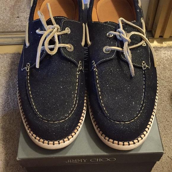Shoes | Jimmy Choo Mens Boat Shoes 1346